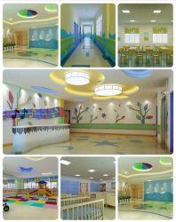 Pépinière de haute qualité de l'école maternelle de parquet, tapis de plancher de rouleau de vinyle