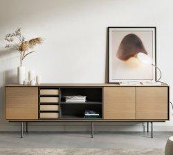Basamento cinese del Governo TV della Tabella di memoria TV della mobilia di legno solido della mobilia della casa della mobilia