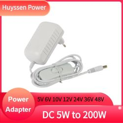 إمداد مهايئ الطاقة العالمي بسعر المصنع 6 فولت 1 أمبير تيار مستمر 6 فولت لموجه ألياف ضوئية LED 4.0X1.7 مم 5.5*2.1