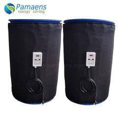 Прочного барабана куртка с подогревом крышку с Регулируемый термостат используется для отопления молоко и мед, масло без загрязнения окружающей среды