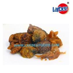 Pettine istante dello spuntino dei frutti di mare con il germoglio di bambù/fungo