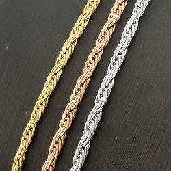 Nuevo estilo francés de la cadena de la cuerda para Pulsera Pulseras Collar de diseño de la bolsa de moda