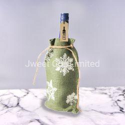 Новые печатные природных джутовых мешков для приготовления вина