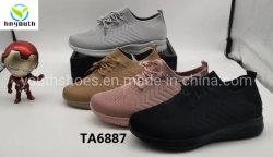 2020 Novo Estilo de injecção de PVC Sole Flyknit Tecidos Senhora superior do calçado Casual Ys20-Ta6887/88/89/90/91/92