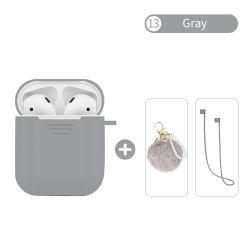 Kopfhörer-Kästen für Airpods Fall-Deckel-Silikon-Kasten-schützende Haut-Zubehör