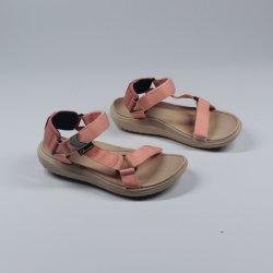 Мода простой комфорт тканого Band летом пляж Босоножки для женщин