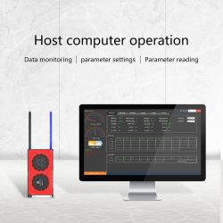 Het Li-ionen Systeem van het Beheer van de Batterij met de Communicatie Gegevens van de Monitor via PC