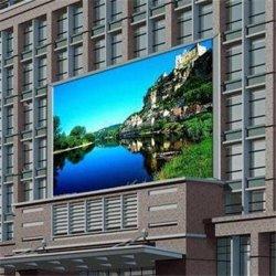 Для использования вне помещений P8 фиксированной установки рекламы светодиодный дисплей Full HD видео