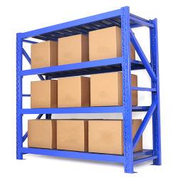 高性能軽量、調整可能な倉庫保管 / スーパーマーケットスチール製ラック / 棚 W-300 4 層の工場出荷時ホットセールを装備したラック