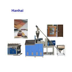 Madera Plástico Piso Panel de pared Máquina de tablero Perfil de planta Materiales de construcción Línea de extrusión Fabricación de maquinaria