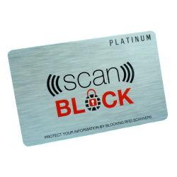 بطاقة حماية [بفك] [رفيد] [أنتي-سكيمّينغ] معوّق بطاقة