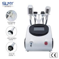 4 mais recente em 1 de cavitação Cryolipolysis RF a perda de peso corporal de emagrecimento equipamentos de beleza