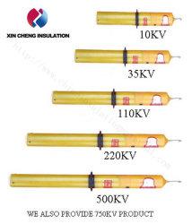 Alarma de alta tensión de CA Acousto-Optic Electroscope