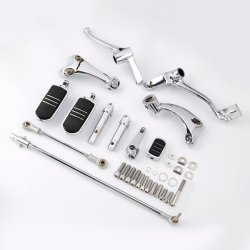 Control de avance de cromo de la motocicleta de la palanca de clavijas de elevación para Harley Davidson Sportster 2014-20