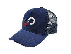 Cappellino da baseball vintage in ricamo di poliestere con coda di ponice e trucker in mesh Cappelli per donna cappello sportivo personalizzato a 5 pannelli