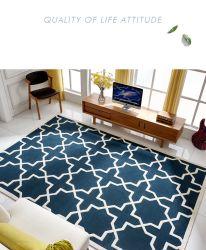Tapetes feitos à mão a Alta Corte, Circuito de baixa de Hollywood Amarelo Luxo tapete tapetes Bambu Tapete Home