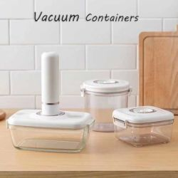 Joint d'aspiration des conteneurs de stockage des aliments en plastique