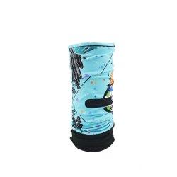 ملابس رأس بانديانا أكثر سُمكًا للشتاء مع قماش Fleece ووشاح غطاء الوجه الدافئ مع قماش Fleece