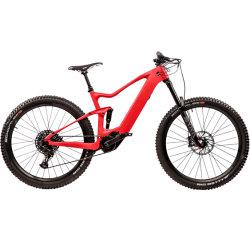 El bastidor de fibra de carbono 500W a mediados de la suspensión completa del motor Electric MTB Bicicleta de Montaña
