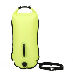 Heller Sicherheitswim-Bojen-Beutel für geöffnetes Wasser-Schwimmen