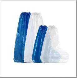 공장 도매 직접 처분할 수 있는 새로운 물자 짠것이 아닌 단화 덮개 개인적인 보호를 위한 Non-Slip 단화 덮개를 두껍게 한다