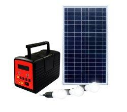 12V/13000mAh CE RoHS ホーム太陽光発電システムサポートファン テレビも完備