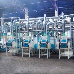 10t/d пшеницы кукурузоуборочной жатки для кукурузы помола муки мельница для Кении рынка