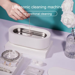 280 ml de 15W Xiaomi Limpiador ultrasónico de Anteojos joyas afeitadora chupete lavado acero inoxidable 304 tanque de limpieza