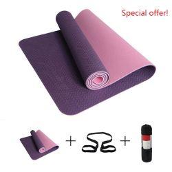 Espuma de borracha Eco Extra grossa exercício colchão Fitness Yoga Mat