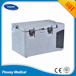 Big haute capacité du sang du refroidisseur d'Mobile médical avec une excellente qualité (MDF-25H700LC)