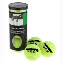 De Professionele RubberBallen van uitstekende kwaliteit van het Tennis van de Wol met Buis