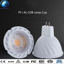 LED-Lampe Cup MR16 12V 5W COB Highlight Energy Saver PC+Al