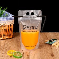 Zip personnalisés en plastique Stand up Capri Sun Sacs de jus de fruits