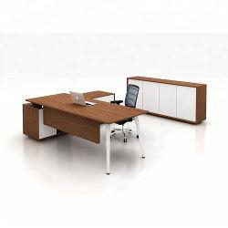 鉄骨フレームの現代デザインメラミンオフィス表管理CEOの机