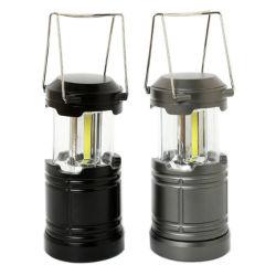 COB aimant ultra-brillant & Camping pliable de base du crochet de lanterne à LED