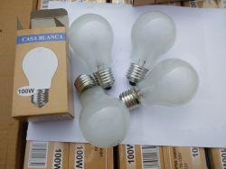 A55 Iluminação Globo B22 Apagar as lâmpadas incandescentes de vidro fosco 110-130V Lâmpadas de 9 W