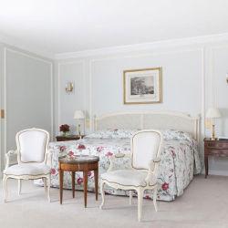لطيفة تصميم أثر قديم صلبة خشب ورد غرفة نوم أثاث لازم مجموعة