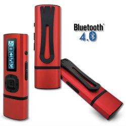 Memoria USB MP3 Reproductor de música, admite la grabación, radio FM, Ebook, tarjeta SD ampliable
