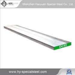 Alta resistencia al desgaste DC53 Cr8Mo2VSI la hoja de acero+Placa para morir de rosca chapa