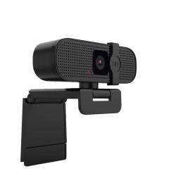 FHD 4K webcam USB PC-webcamera met ingebouwde microfoon Plug & Play voor Skype Live Class Conference-videocamera Bureaublad