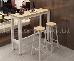 Vinos modernos de madera diseños de tabla de la barra de armario