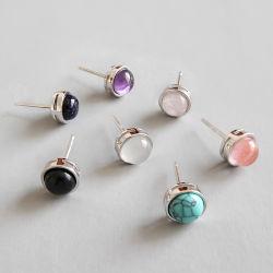 Fashion Jewelry Gift Earring 925 Sterling Silver Oorbellen Opal Pearl Crystal Jewelry Oorbellen Jewelry Fashion Silver Oorbellen