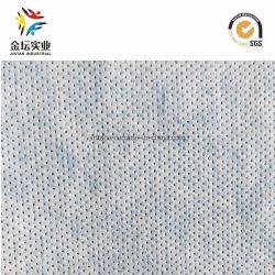 China Fabricación Permeablity aire caliente a través de la hoja superior no tejido de pañal (K03)
