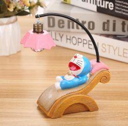 Творческие полимера ремесел таблица Dé Cor Doraemon дизайн LED подвесной светильник