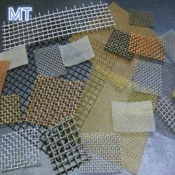 AISI304 AISI316 AISI316L de malha de arame de aço inoxidável 2mesh-300mesh