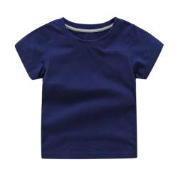 유기 면 유효한 아기는 아기 t-셔츠를 위한 아이들 의복을 입는다