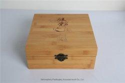 [متّ] إنجاز طلاء لّك خيزرانيّ خشبيّة هبة شام صندوق