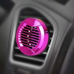 Plástico de color púrpura Mini Ronda Alquiler de encajar el perfume