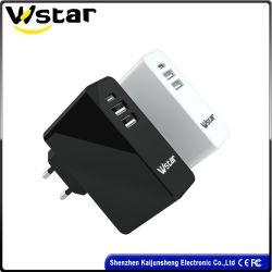 Marché de gros accessoires pour téléphones mobiles 2 Ports USB Smart 1 chargeur USB de port de type C