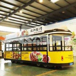 New Street Fashion حجم مخصص شاحنة الوجبات السريعة المتنقلة من أجل أوكازيون